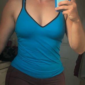 Pink workout top